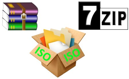 Cách giải nén tệp ISO trên máy tính bằng WinRAR hoặc 7-Zip - các chương trình mở ISO