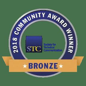 Transparent graphic of STC CAA 2018 Bronze Award