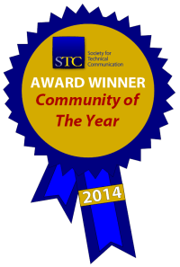 STC Community of the Year ribbon
