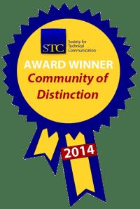STC Community Achievement Distinction ribbon