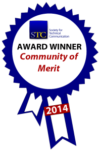 STC Community Achievement Merit ribbon