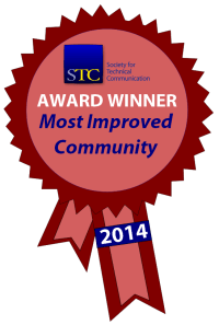 STC Community Achievement Most Improved ribbon