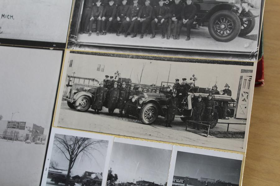 This Vintage Fire Truck Explains Why Center Line Is