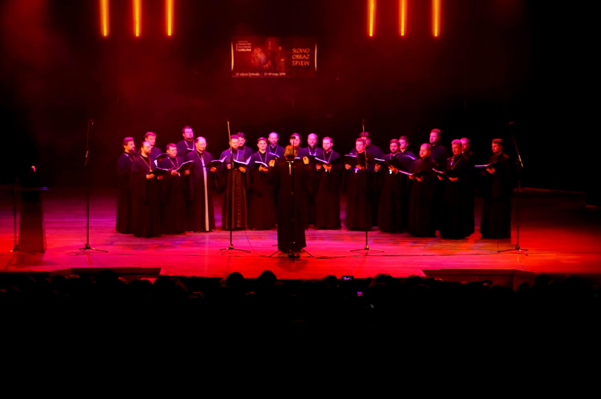 Chór Duchowieństwa Diecezji Brzeskiej z Brześcia (Białoruś)