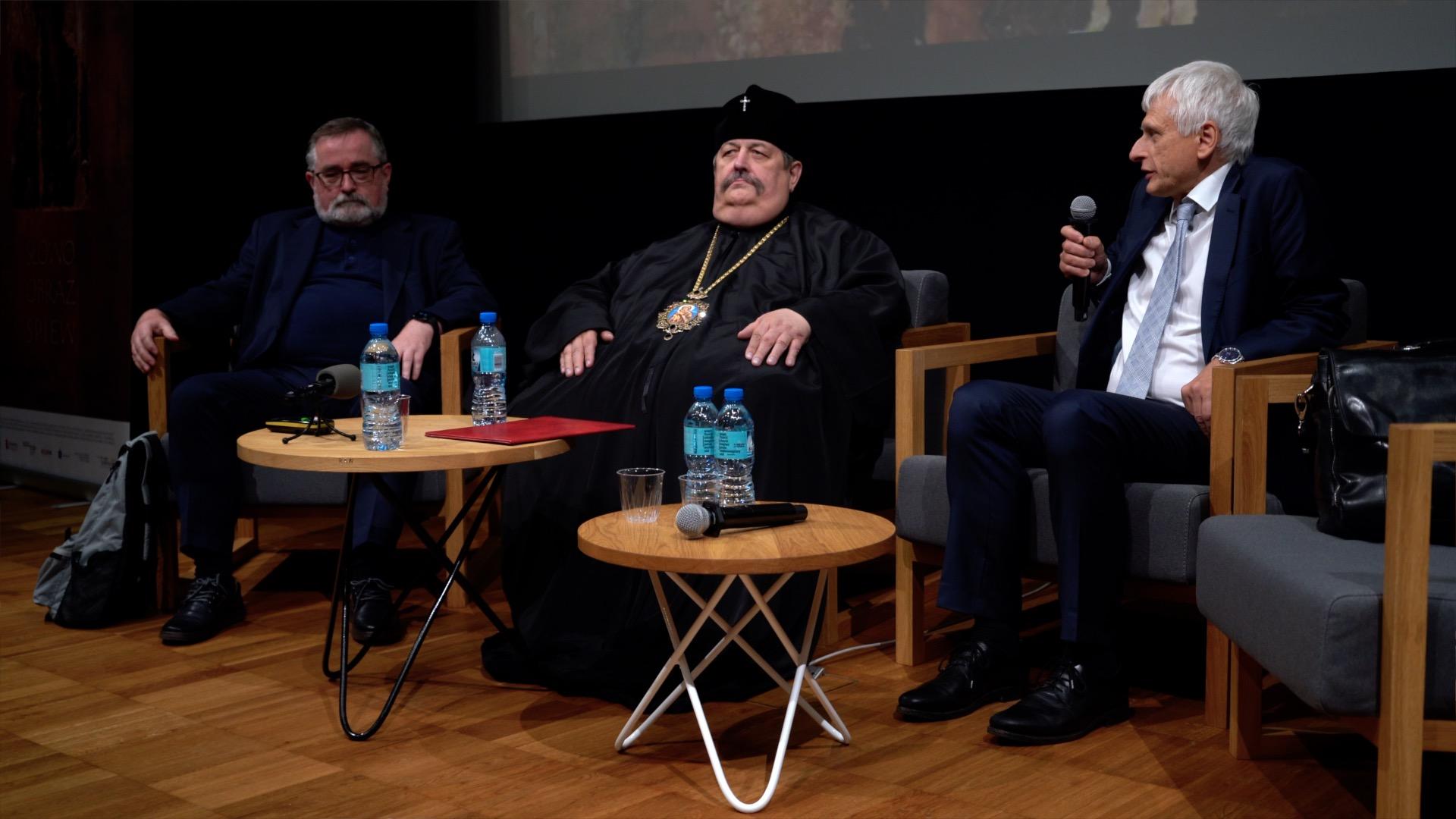 Dyskusję w czasie konferencję moderował prof. dr hab. Krzysztof Leśniewski