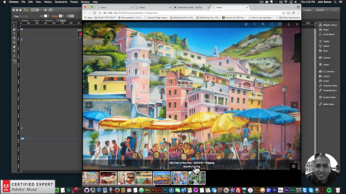 Muse For You - How to Add a Virtual Art Gallery - Adobe Muse CC