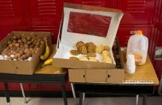 EdCampDSM had no shortage of food....