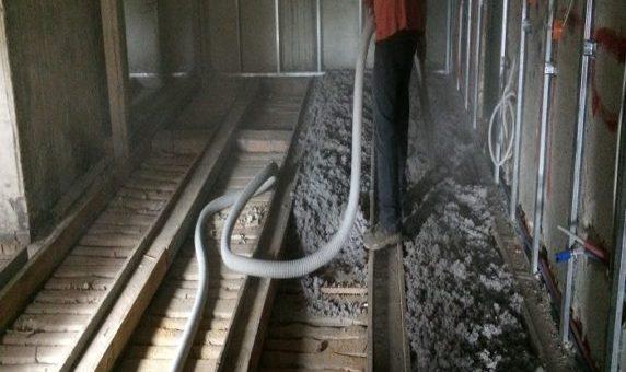 Ocieplenie celuloza kamienicy w Bydgoszczy