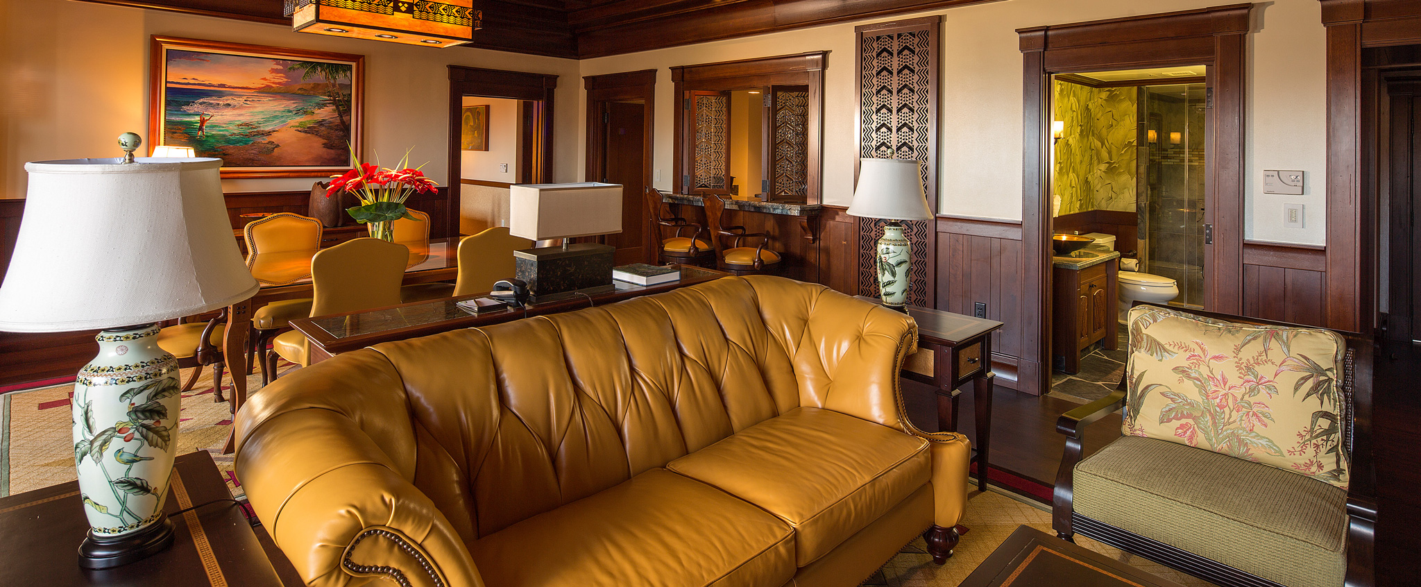 Queen Leather Sleeper Sofa