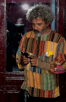 03_Ian Waterman_ In his coat of many colours