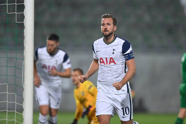 Ludogorets 1-3 Tottenham: Kane rakes in 200th Spurs goal