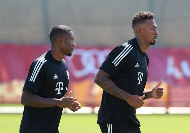 Boateng's contract is set to run out in June