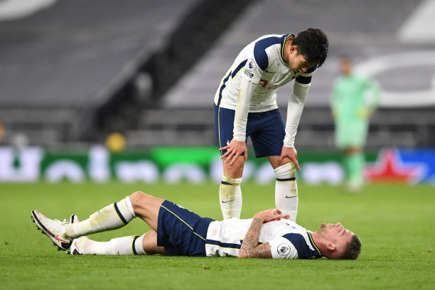 Toby Alderweireld facing two to four weeks on the sidelines