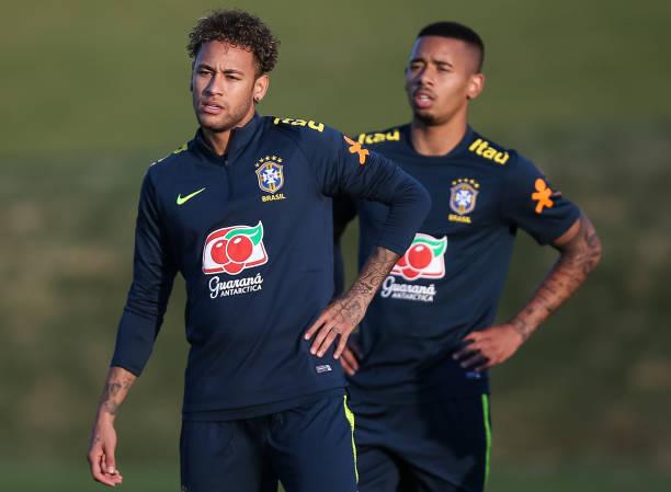 Neymar and Jesus