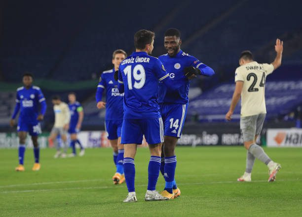 Leicester 2-0 AEK Athens: Foxes seal top spot in Group G