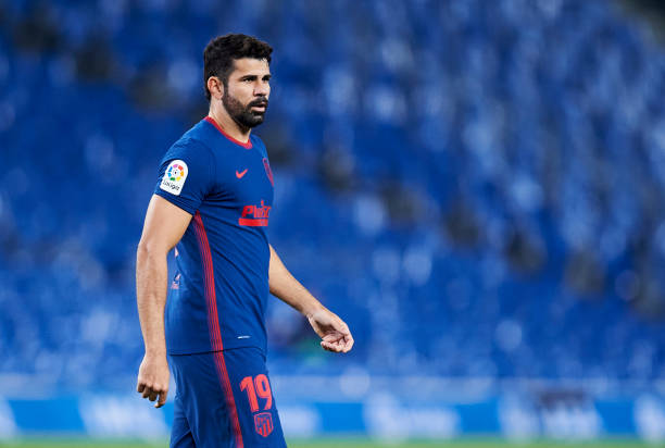 Diego Costa leaves Atletico Madrid by mutual consent