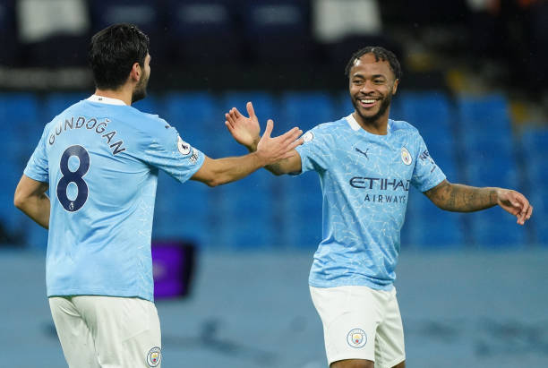 Sterling becomes first City star to reach 150 goal involvements under Guardiola