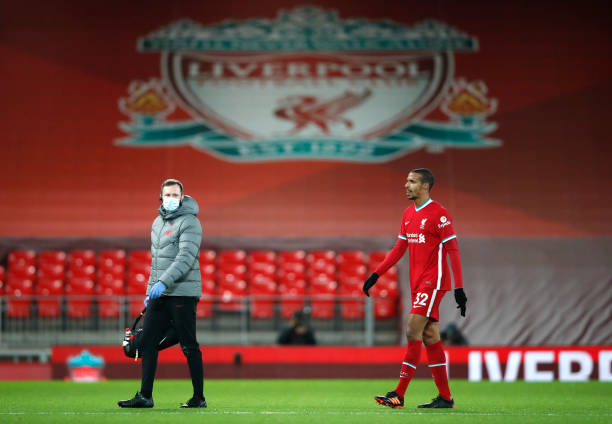 Matip out for three weeks with groin injury