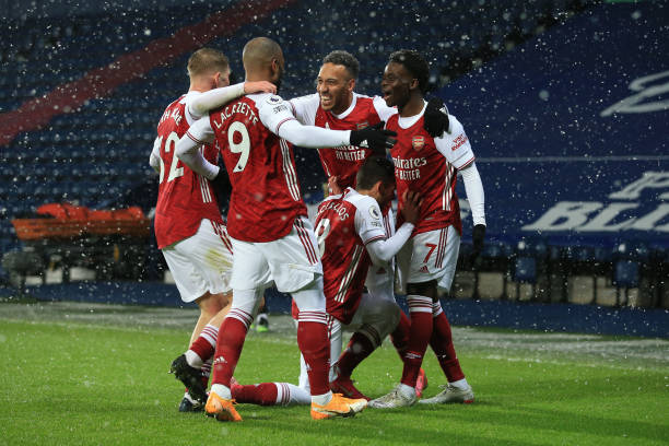 West Brom 0-4 Arsenal: Revitalized Arsenal continue winning run