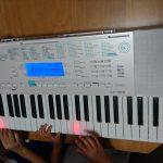【子供の習い事】長女6歳の誕生日にキーボードを購入。習うきっかけになるでしょうか?