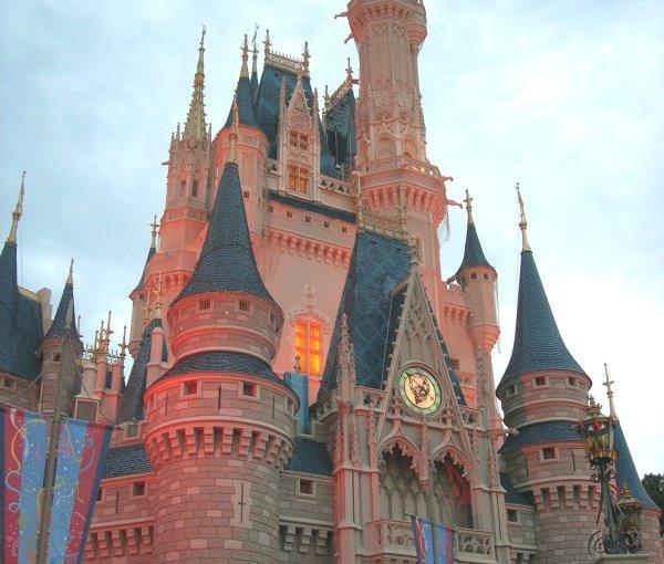 Empty Walt Disney World Photos from Hurricane Matthew