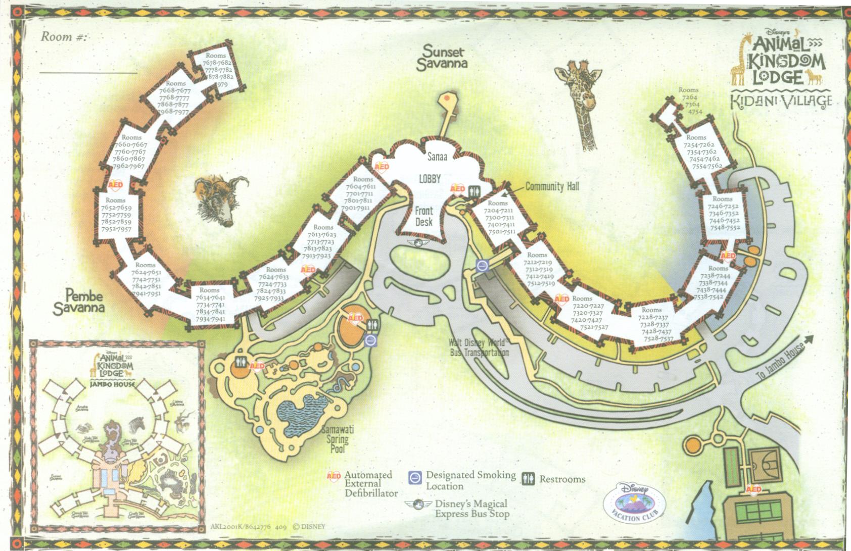 Animal Kingdom Lodge Villas At Walt Disney World Resort