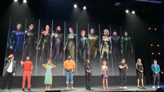 Image result for eternals cast marvel