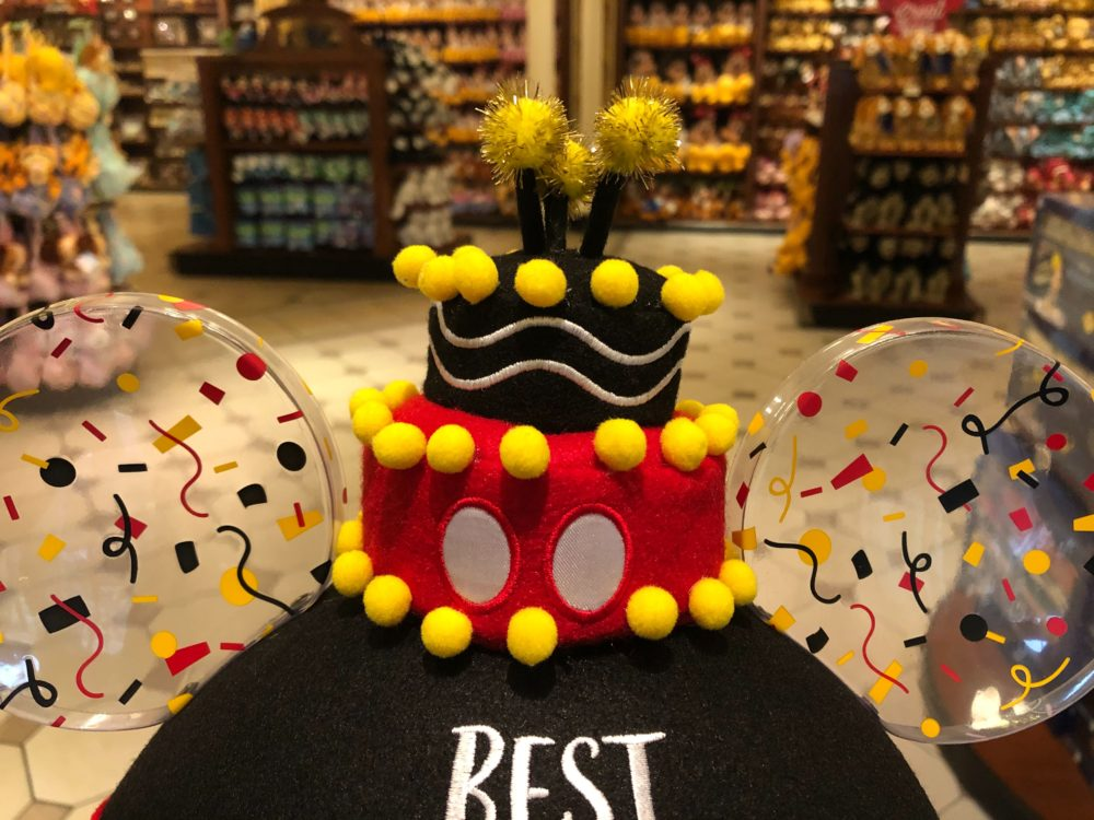 Photos Celebrate Your B Day With The New Mickey Mouse Birthday Ear Hat At Walt Disney World Wdw News Today