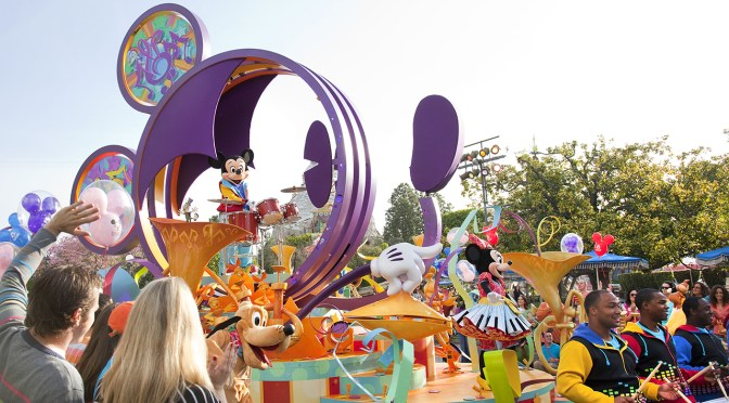 Watch Mickey's Soundsational Parade Live from Disneyland Park Tonight!
