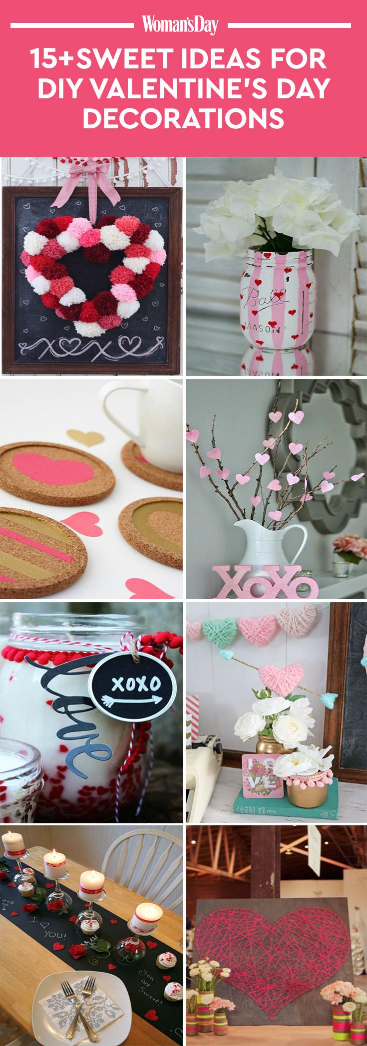 13 DIY Valentines Day Decorations Easy Valentines Day