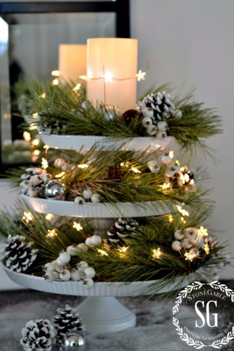 32 Christmas Table Decorations Amp Centerpieces Ideas For