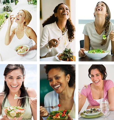 woman-laughing-collage