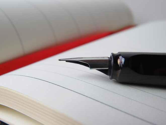 blur composition desk diary