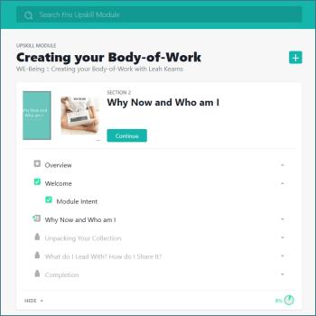 Screenshot - module overview