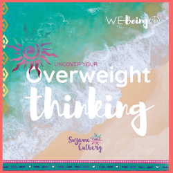 Image with text: Overweight thinking