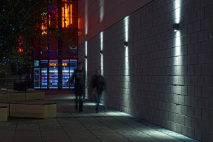 QLS400 LED: Feethams Leisure Centre. Darlington, Teeside (UK)
