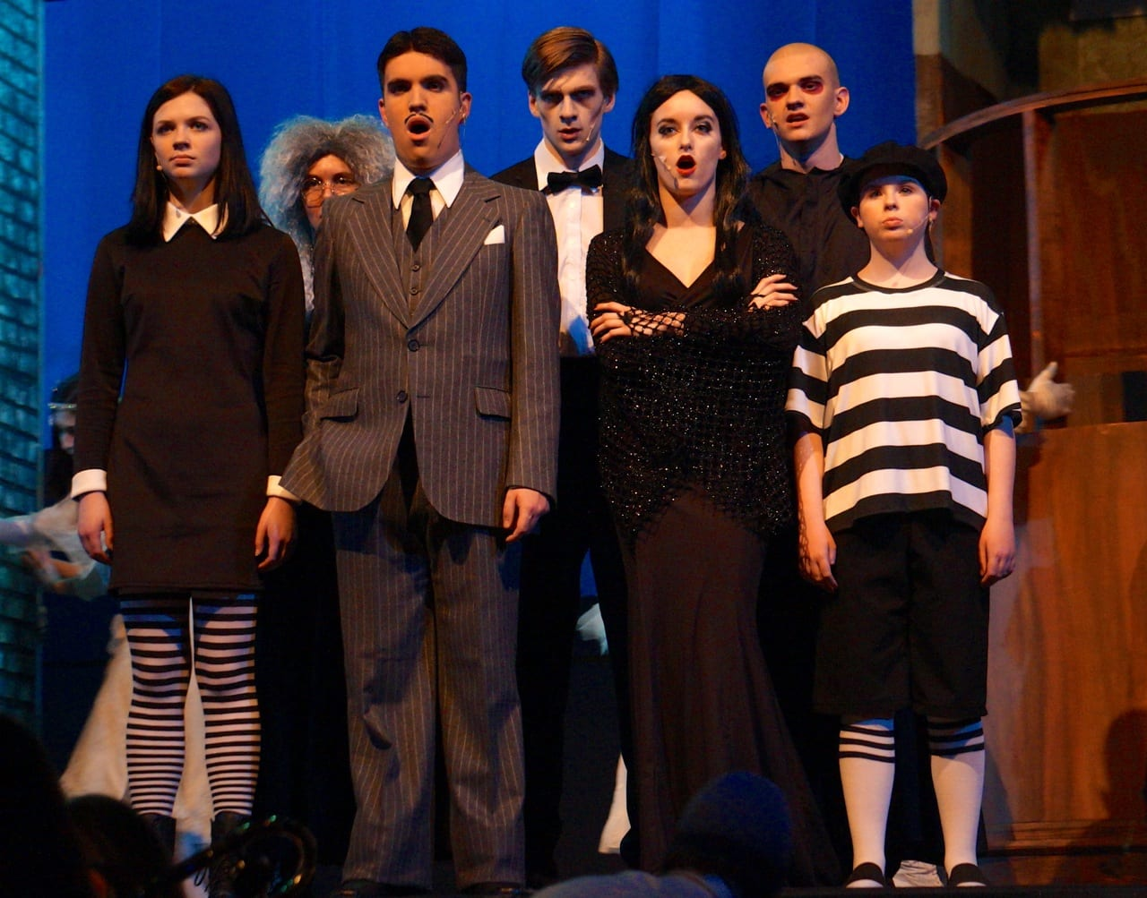 Conard S Production Of The Addams Family Is Weird And