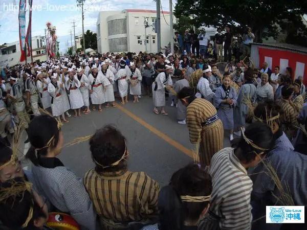 石垣島豊年祭アヒャー綱