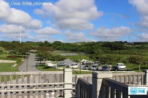 沖縄県平和祈念資料館駐車場