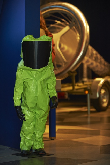 'Hazmat Suits for Children' by Marina Zurkow as part of STRANGE WEATHER at Science Gallery at Trinity College Dublin. dublin.sciencegallery.com 1.jpg