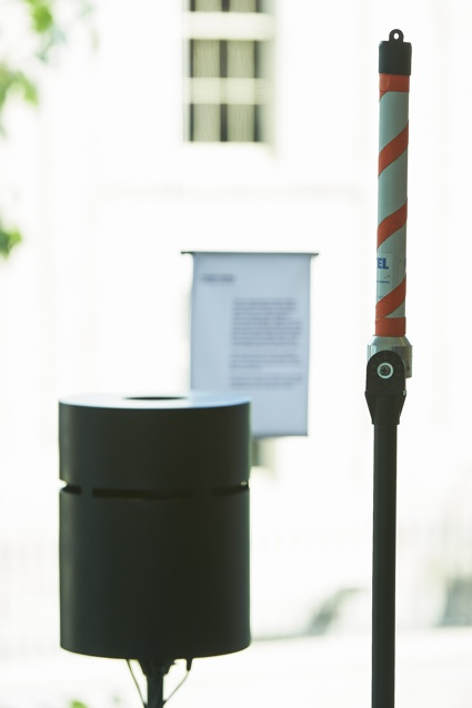 'Solar Wind Aeroscope' by Jonas Hansen and Lasse Scherffig as part of STRANGE WEATHER at Science Gallery at Tirnity College Dublin. dublin.sciencegalelry.com.jpg