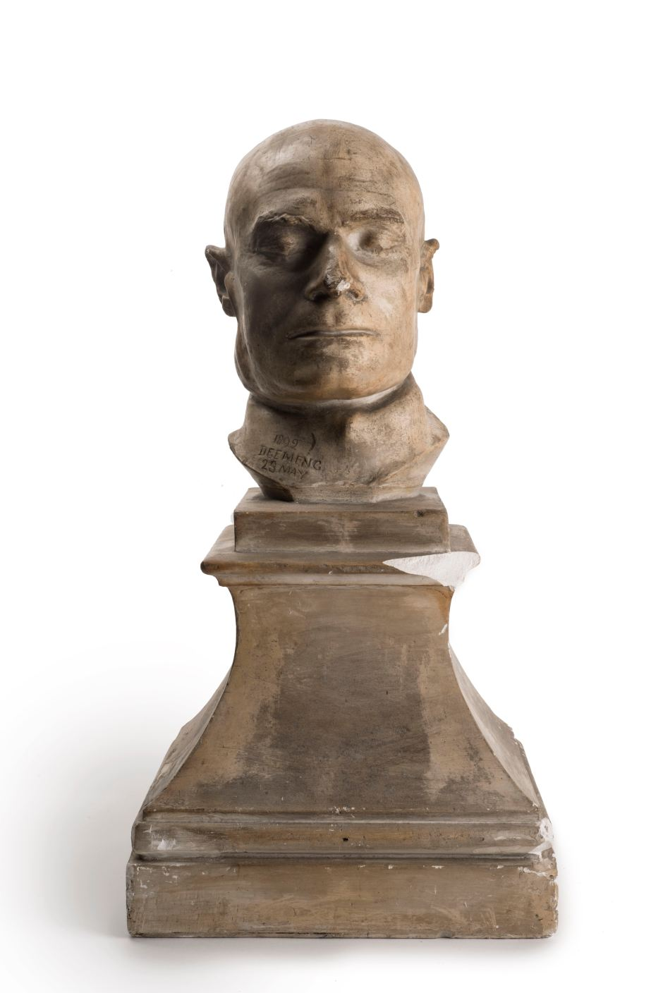 4. Death mask of murderer Frederick Deeming, a Jack the Ripper suspect , 1892 ∏ Museum of London