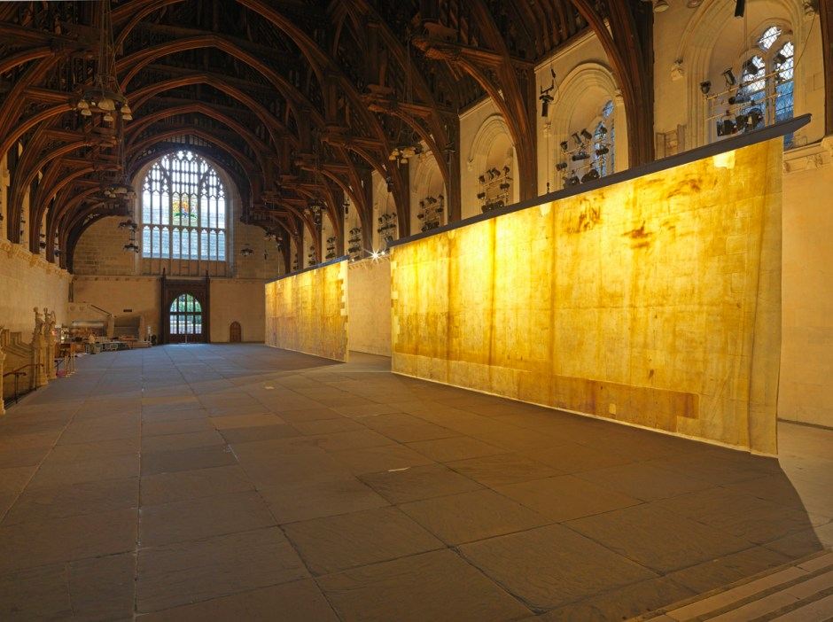 Jorge Otero-Pailos, The Ethics of Dust Installation Photography Houses of Parliament