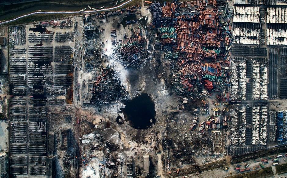 © Chen Jie - Tianjin Explosion