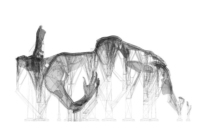 Art Alert Drawing Per Joseph Iliu Composition Abstract Abstraction Lyrique Romania #2