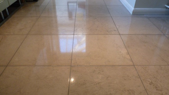 Polished-Limestone-Floor-Restoration-Berkhamsted-24