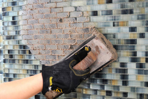 Grout Install