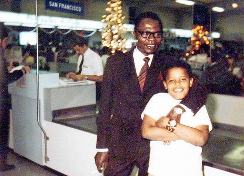 Встреча. Обама-старший встречался со своим повзрослевшим сыном лишь один раз — в 1971 году
