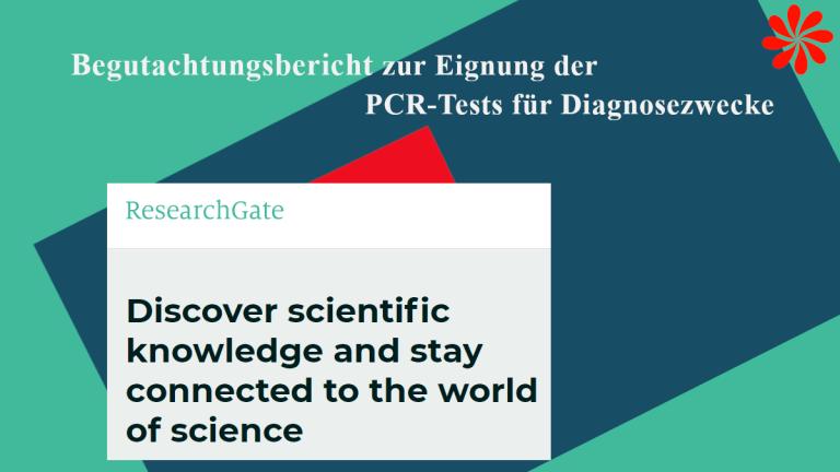 Begutachtungsbericht zu PCR-Tests für Diagnosezwecke