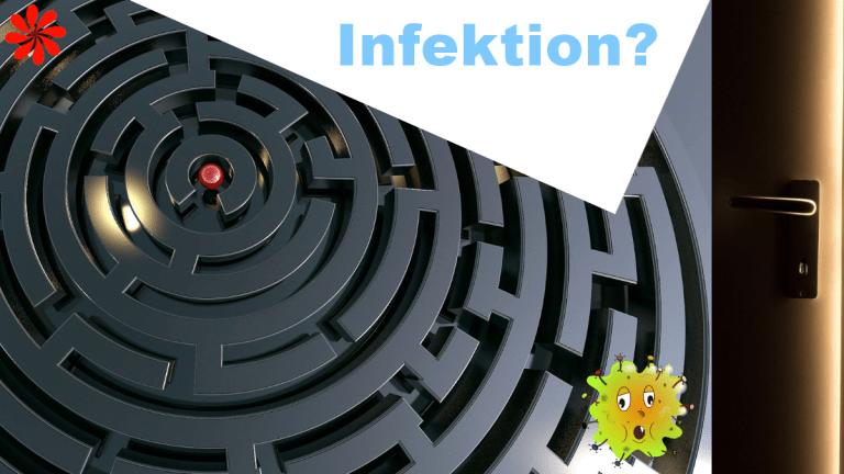 Was ist eine Infektion und wie entsteht sie?